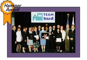 hud archives hud s hammer award winners model office team