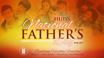 HUD's National Father's Day image