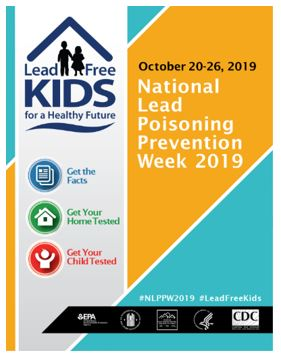 National Lead Poisoning Prevention Week