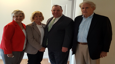 [Officials attend open house at 63 Willow Street, Waterbury CT]