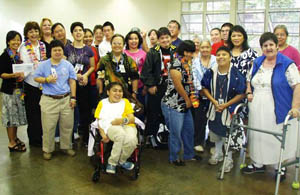 Pacific re opens job training center for mentally challenged adults