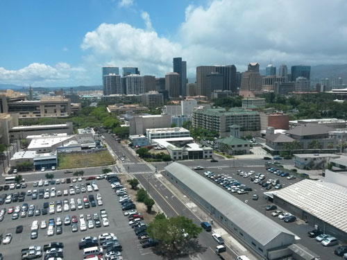 [Photo 1: Location photo showing an emerging, revitalized community of Kakaako]