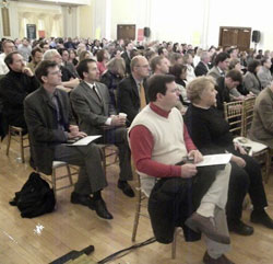 [Photo 2: Audience at the Sustainable Communities Workshop held February 22, 2010]
