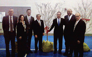 [Photo: Officials gather to break ground on new Sheppard Square in Louisville, Kentucky]