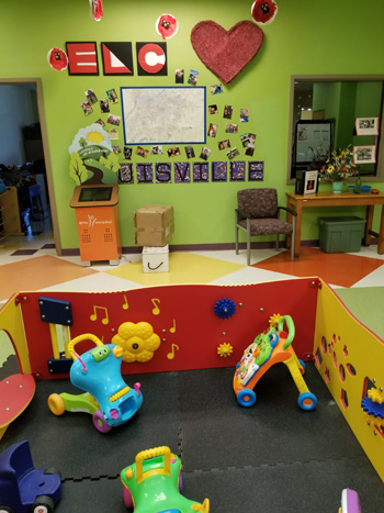 [The Family Scholar House Learning Center playroom.]
