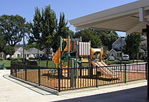 Photo of a playground at Lavell Village